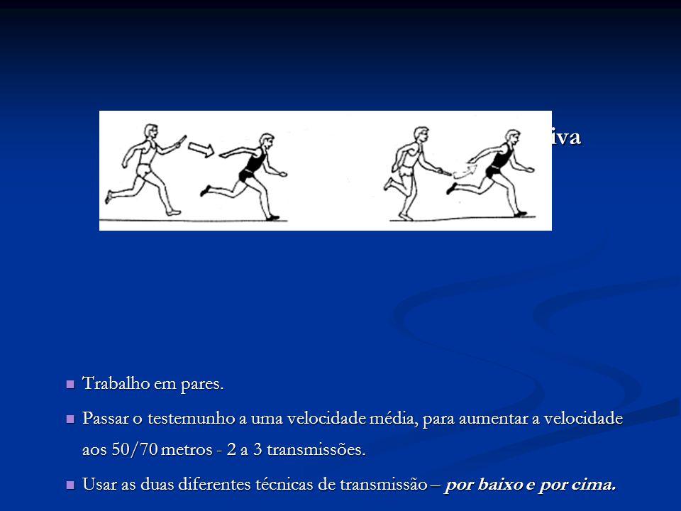 Transmissões em Velocidade Progressiva Transmissões em Velocidade Progressiva Trabalho em pares.