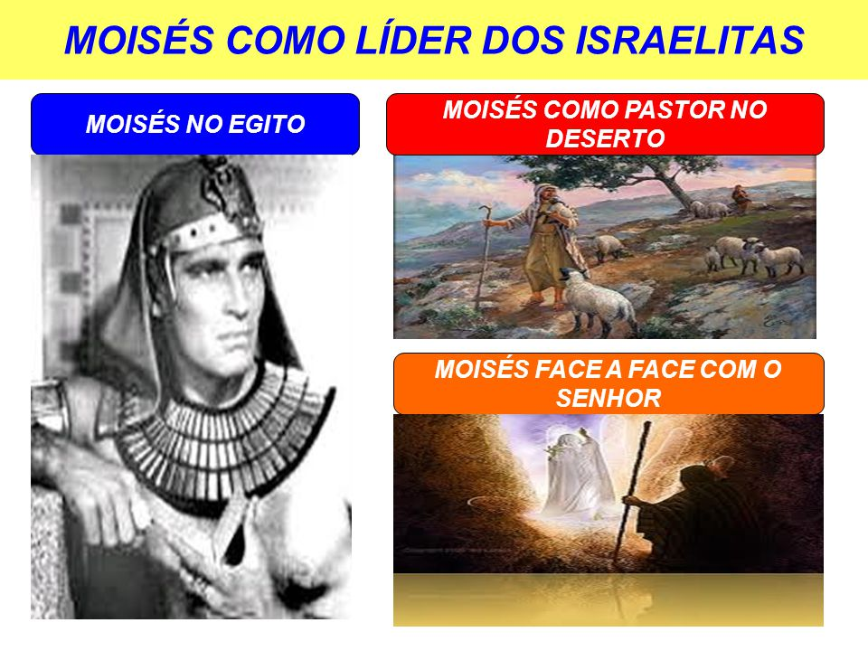 MOISÉS COMO PASTOR E PROFETA JESUS O MAIOR PROFETA E PASTOR