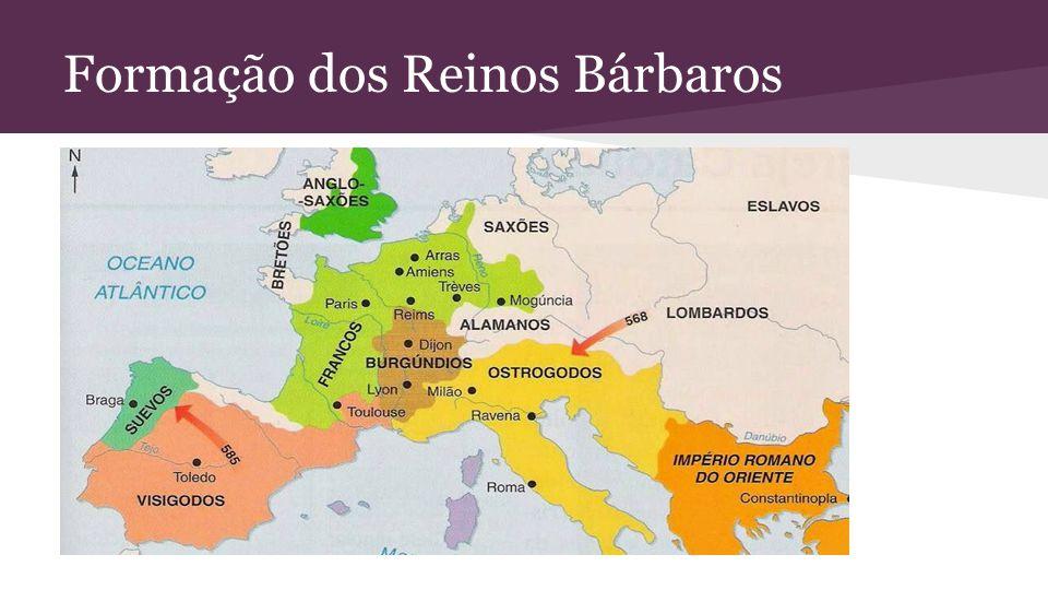 Formação dos Reinos Bárbaros