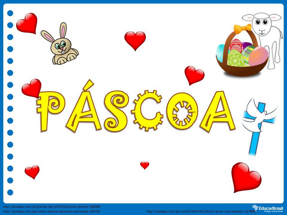 http://pixabay.com/pt/coelho-animal-desenhos-animados-30479/ http://pixabay.com/pt/pomba-paz-p%C3%A1ssaro-animal-268489 http://pixabay.com/pt/cora%C3%