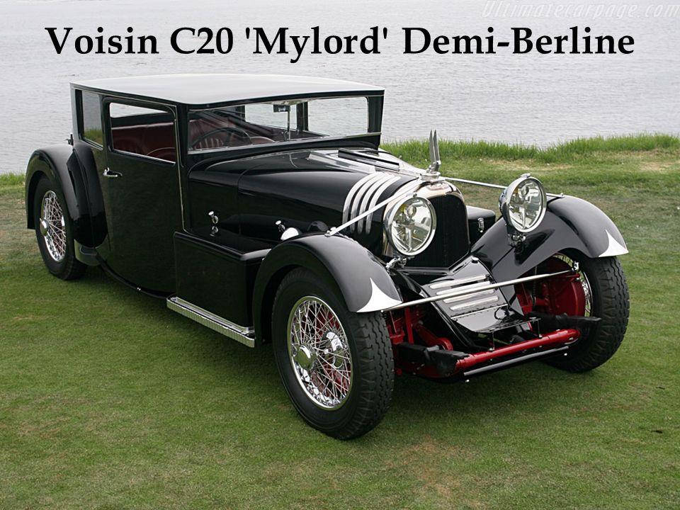 Motor de 6 cilindros em linha e 7,7 litros. Exemplar único. Carroceria construída na Bélgica, nos anos 30. Adquirido em leilão por um colecionador jap