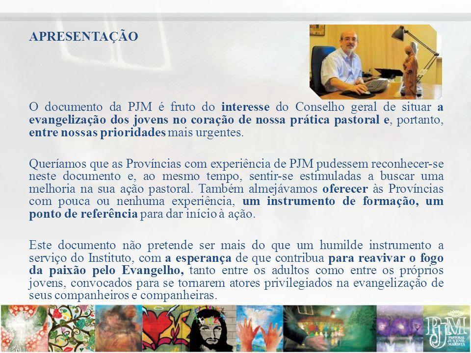 ORIENTAÇÕES PRÉVIAS PARA REUNIÃO DO GRUPO DE ESTUDOS Instituto dos Irmãos Maristas Secretariado da Missão Comissão Internacional da PJM