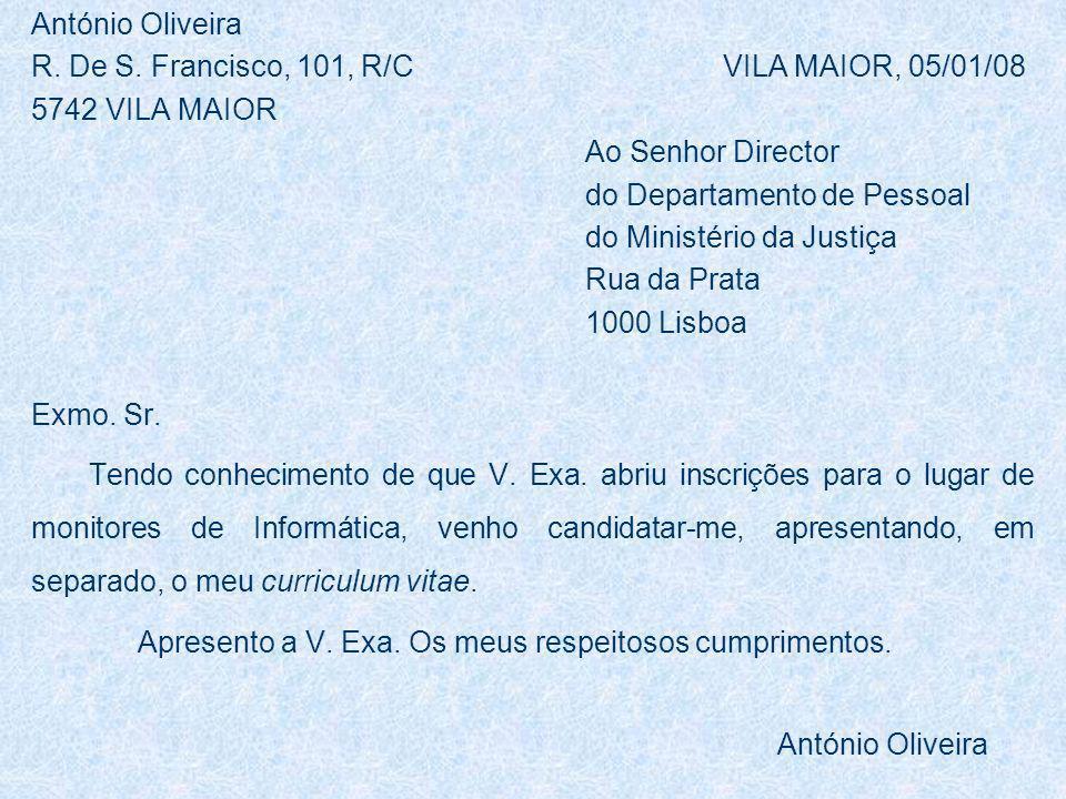 António Oliveira R.De S.