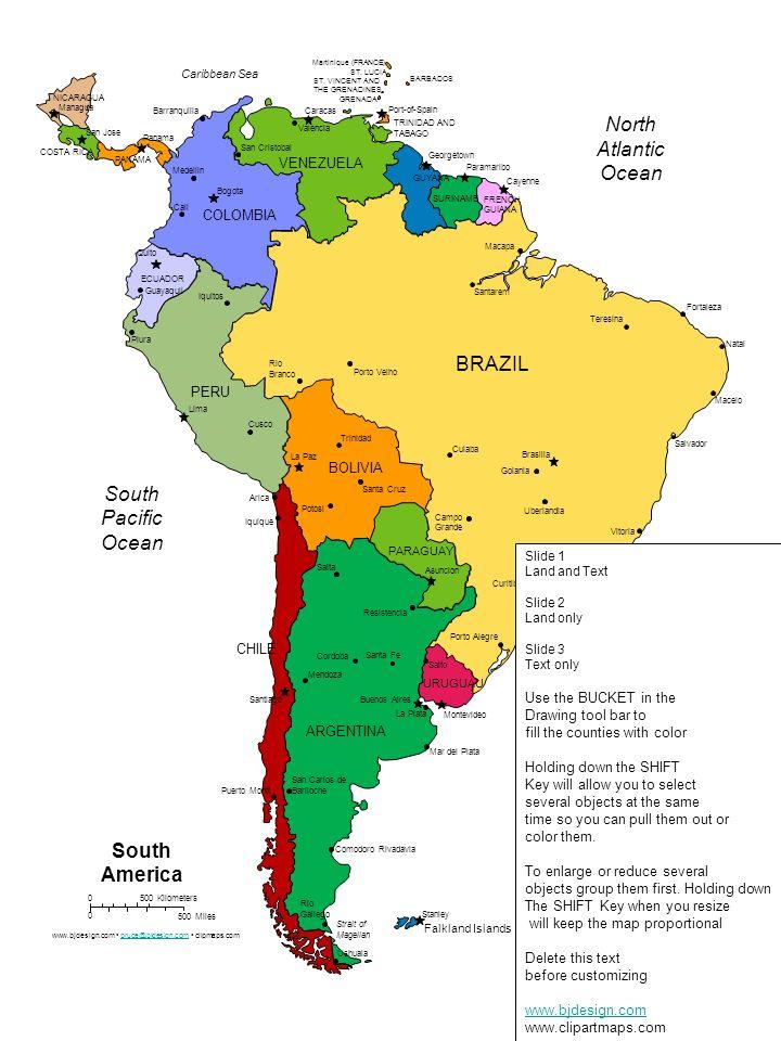 SURINAME GUYANA ECUADOR Panama San Jose Managua PANAMA COSTA RICA NICARAGUA FRENCH GUIANA BRAZIL VENEZUELA COLOMBIA PERU BOLIVIA ARGENTINA CHILE PARAG