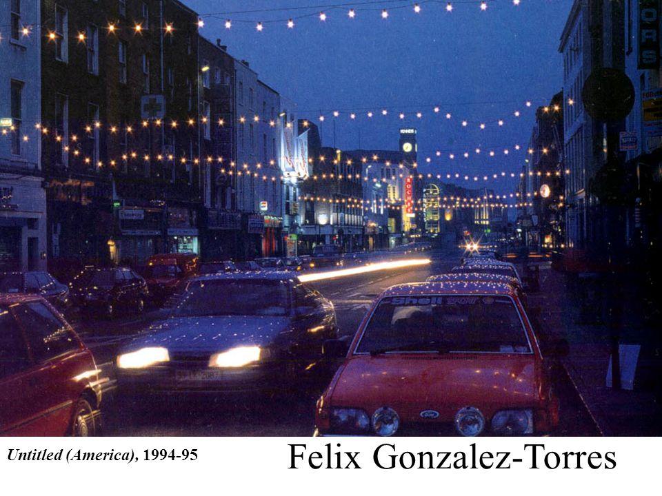 Untitled (America), 1994-95 Felix Gonzalez-Torres