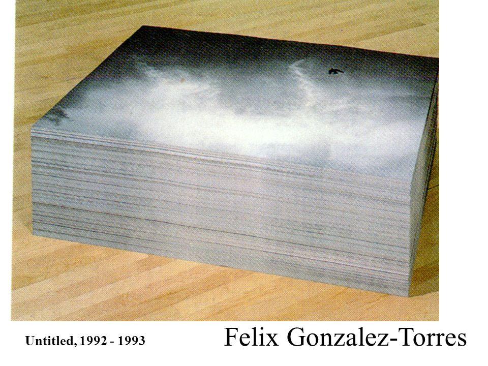 Untitled, 1992 - 1993 Felix Gonzalez-Torres