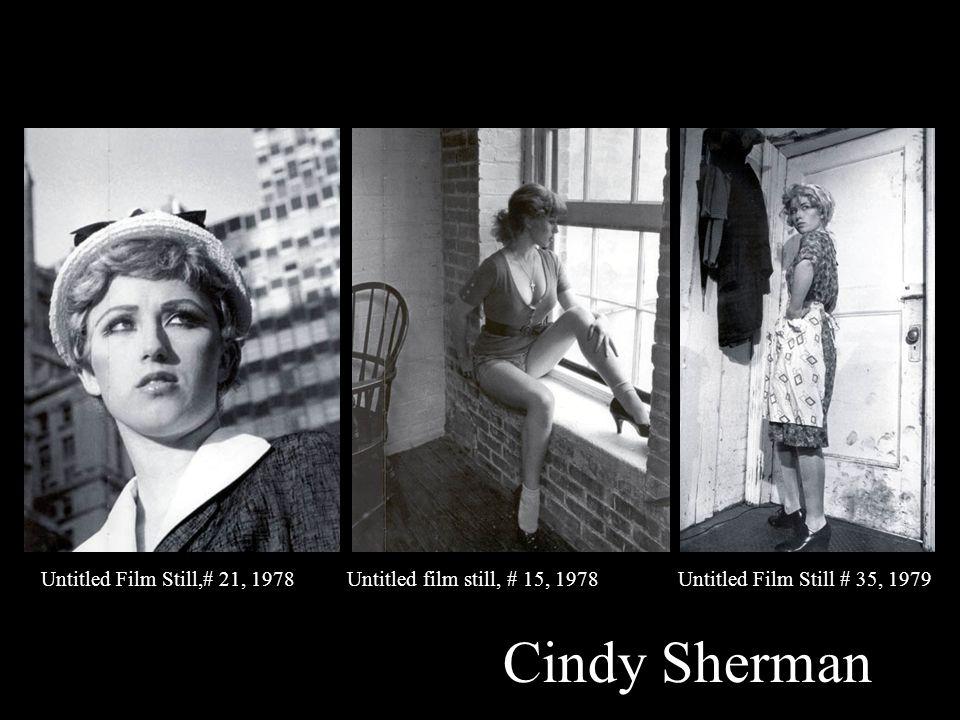 Untitled Film Still,# 21, 1978 Untitled film still, # 15, 1978 Untitled Film Still # 35, 1979 Cindy Sherman