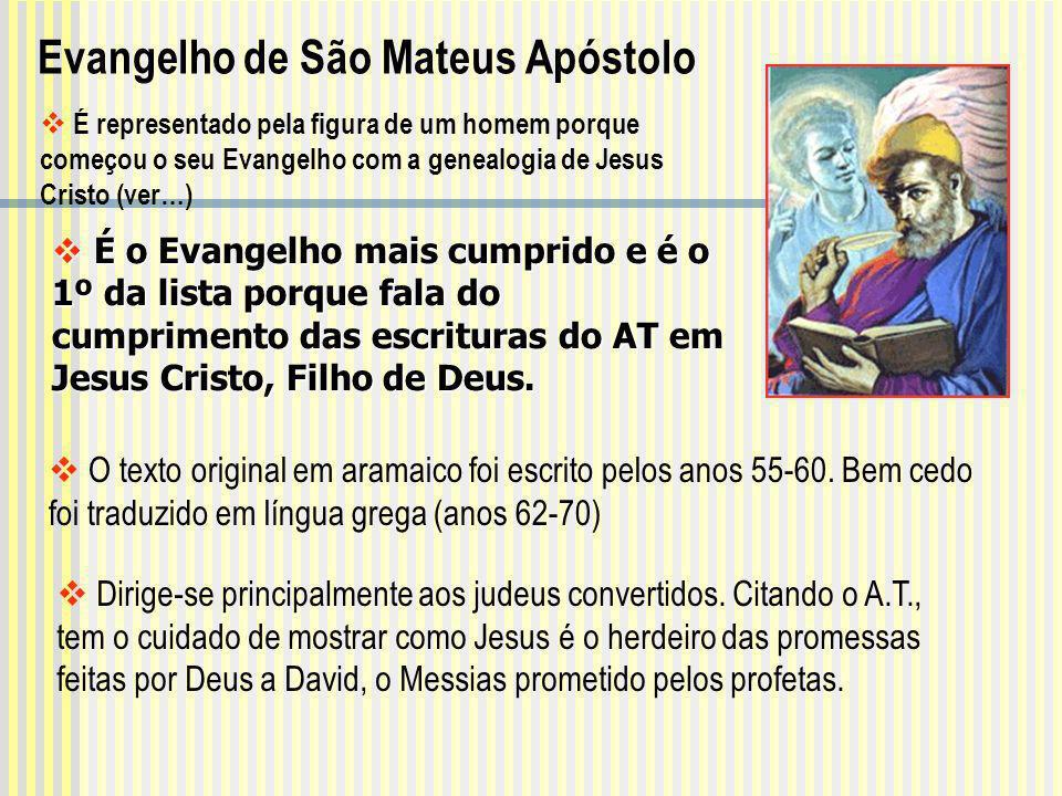 É o Evangelho mais cumprido e é o 1º da lista porque fala do cumprimento das escrituras do AT em Jesus Cristo, Filho de Deus. É o Evangelho mais cumpr