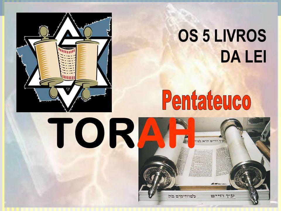 OS 5 LIVROS DA LEI TORAH