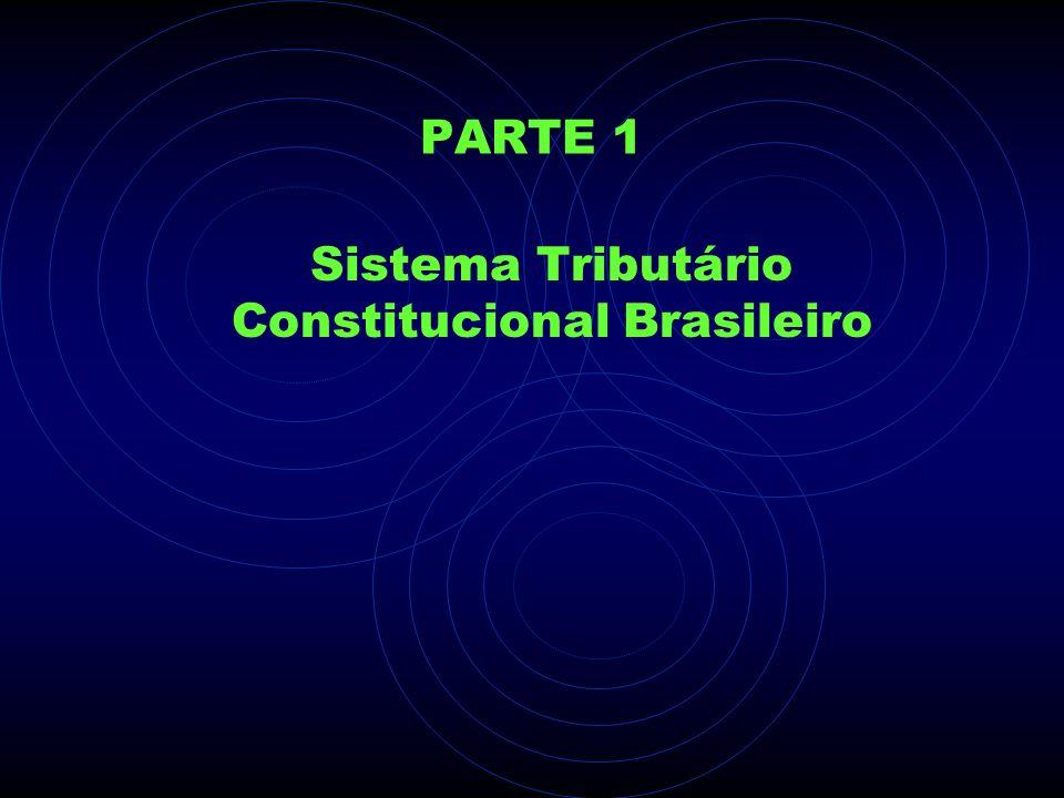 PARTE 1 Sistema Tributário Constitucional Brasileiro