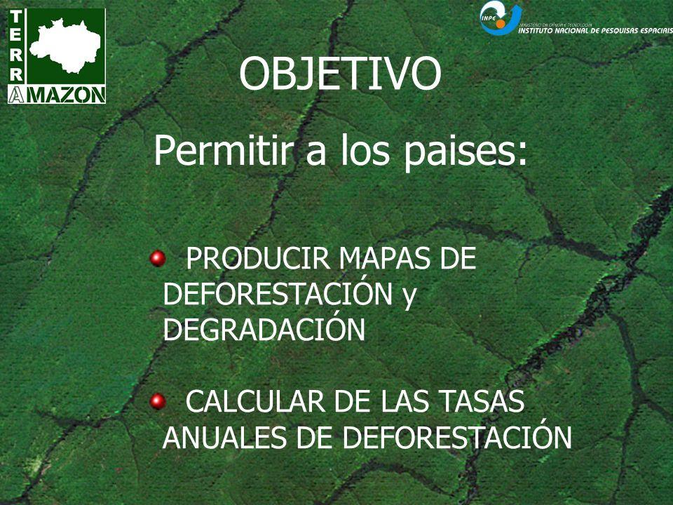 SISTEMA TERRAMAZON Base de dados unificada: acesso de todos projetos do Programa de Monitoramento da Floresta Amazônica; Sistema multiusuário; Controle de acesso e projetos; Uso concorrente;