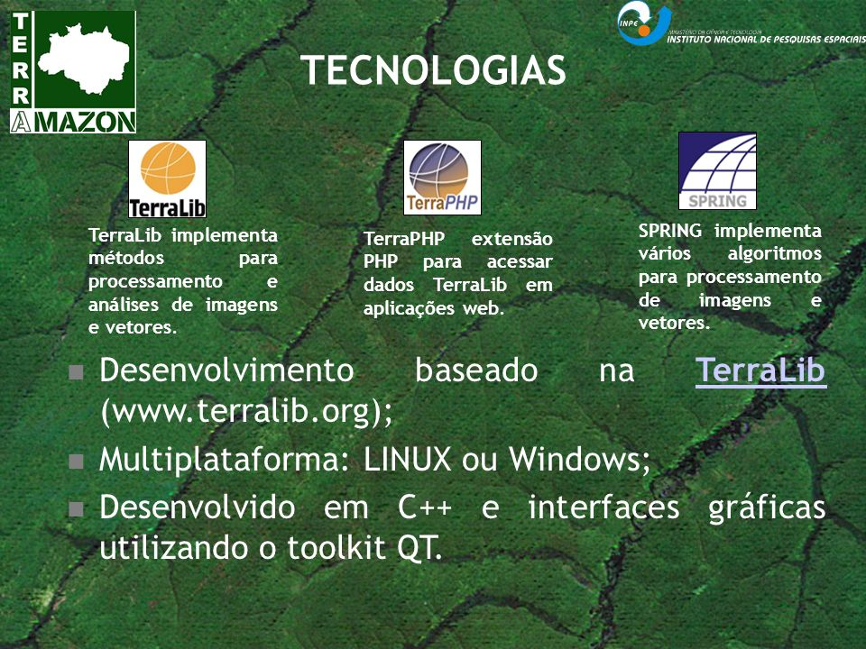 BASE DE DADOS UNIFICADA Projeto: DETER Imagem: MODIS 2009 Projeto: PRODES Imagem: Landsat 2008 FONTE: FUNCATE