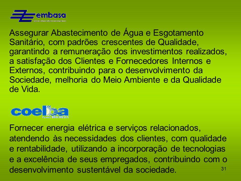 30 Alguns Exemplos de Missão Contribuir para o progresso cultural, político, econômico e social do povo brasileiro, através da educação, da informação