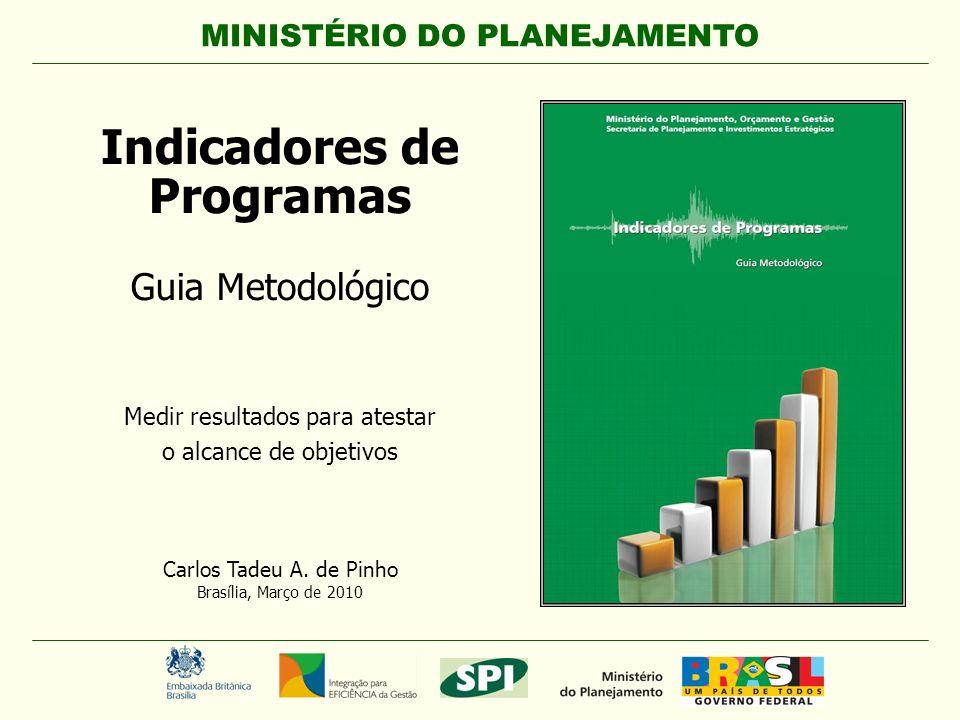 1 MINISTÉRIO DO PLANEJAMENTO Carlos Tadeu A.