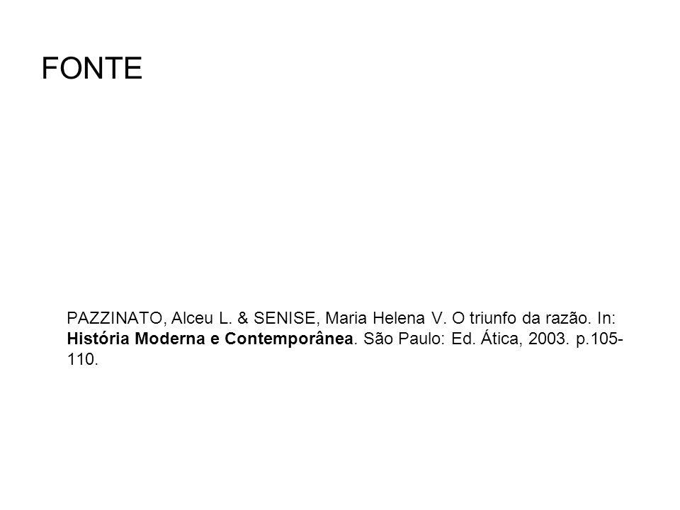 FONTE PAZZINATO, Alceu L.& SENISE, Maria Helena V.