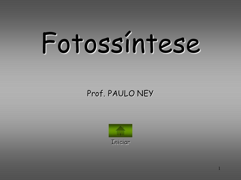 1 Fotossíntese Prof. PAULO NEY Iniciar