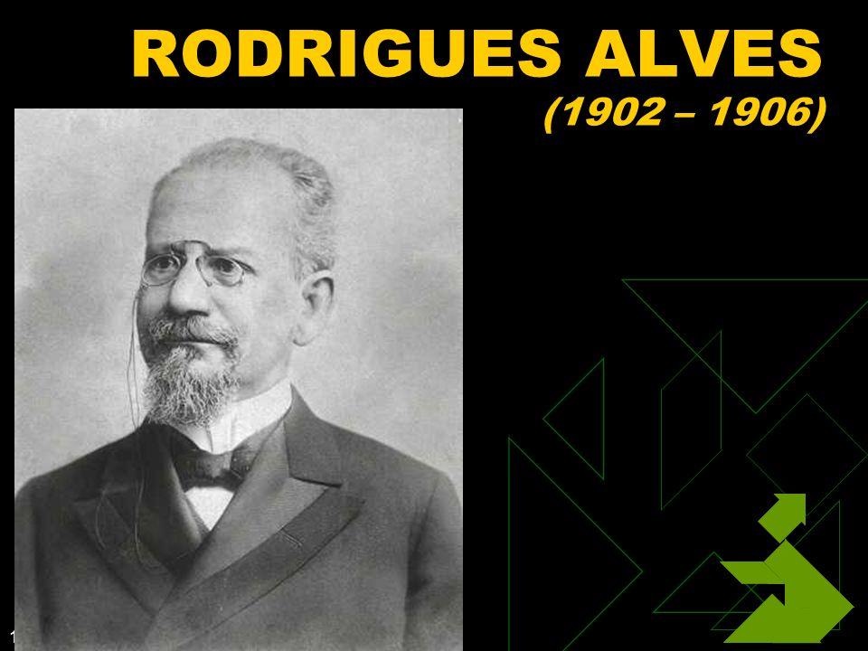 1/27/2014 48 RODRIGUES ALVES (1902 – 1906)