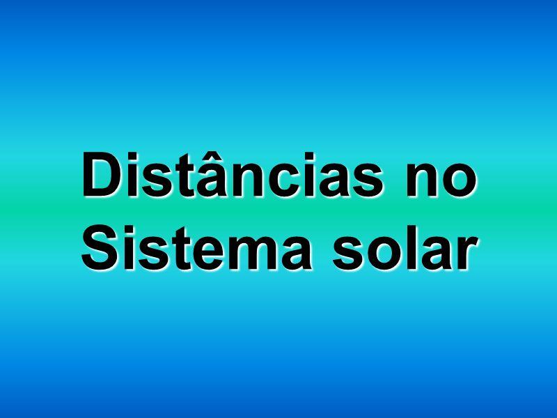 Distâncias no Sistema solar