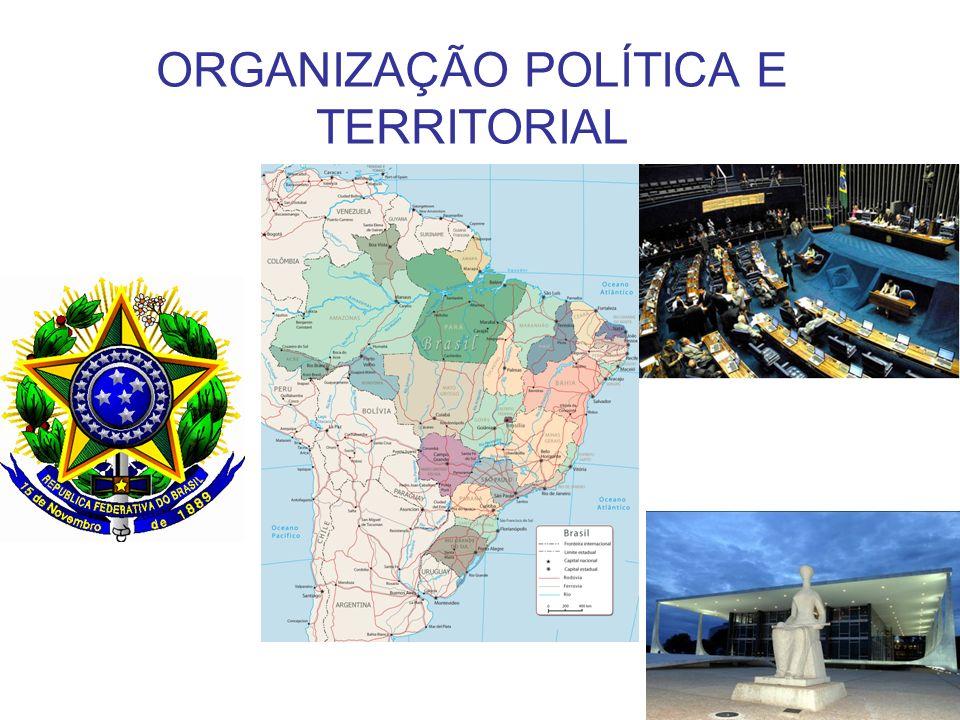 ORGANIZAÇÃO POLÍTICA E TERRITORIAL