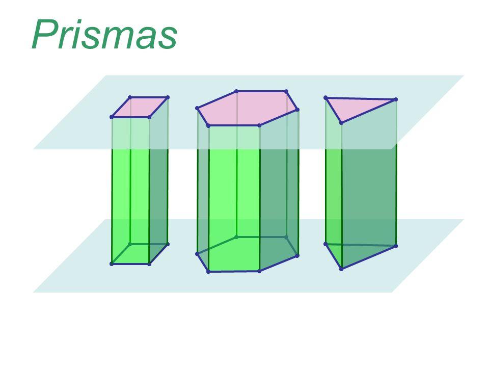 O que você consegue observar de comum entre os sólidos abaixo?