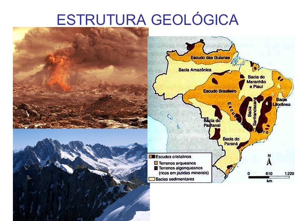 ESTRUTURA GEOLÓGICA