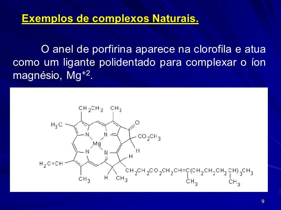 8 A ocorrência das cores verde e violeta para o mesmo complexo [Co(NH 3 ) 4 Cl 2 ]Cl 2 ficou explicada pela ocorrência de isômeros cis e trans.