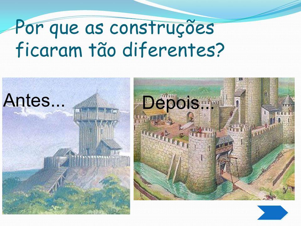 O medo das invasões e violência das cidades,fez com que muitos proprietários fugissem para o campo,construindo castelos fortificados.Ruraliza ção.