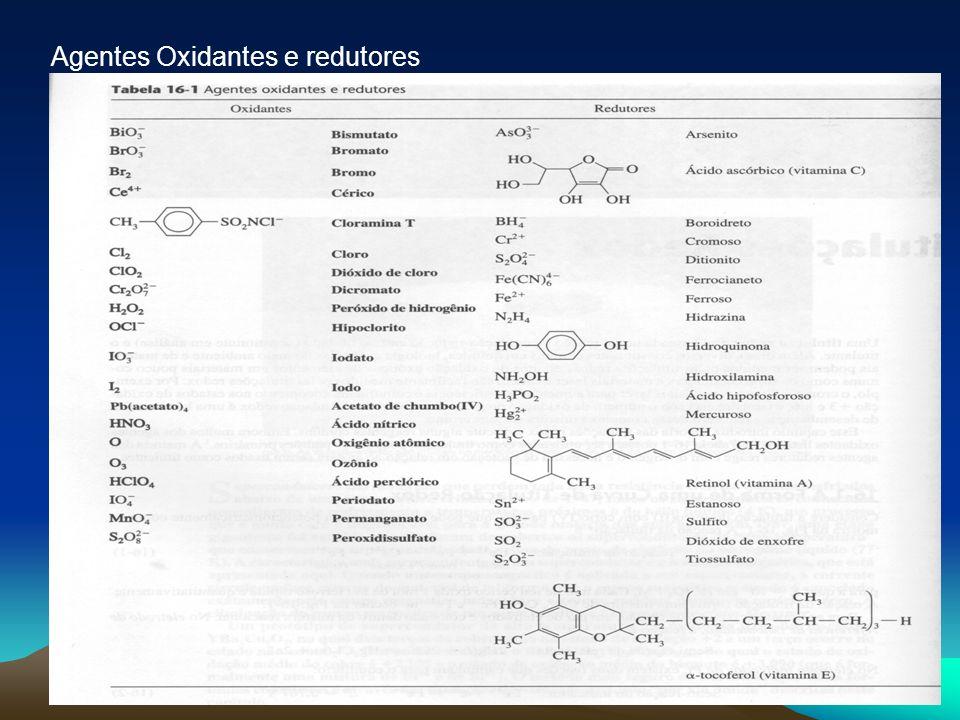 43 Agentes Oxidantes e redutores