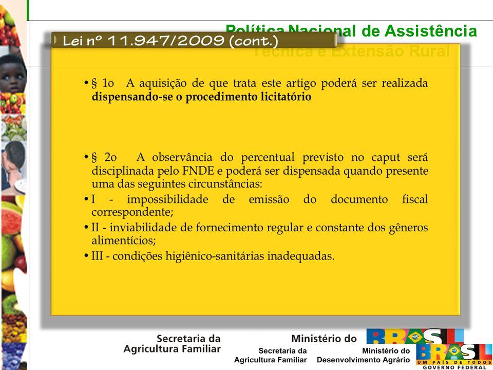 Política Nacional de Assistência Técnica e Extensão Rural