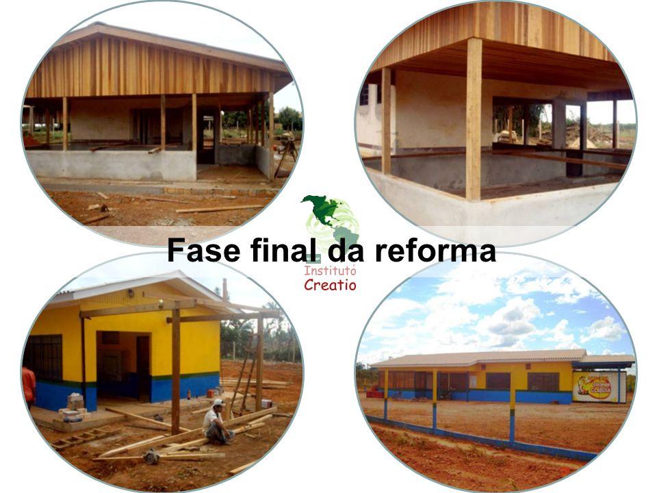 Fase final da reforma