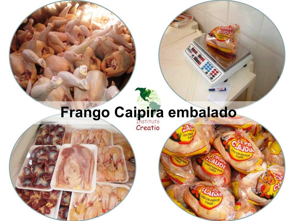 Frango Caipira embalado