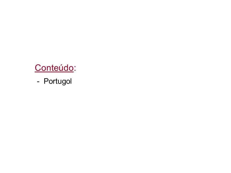 Conteúdo: - Portugol