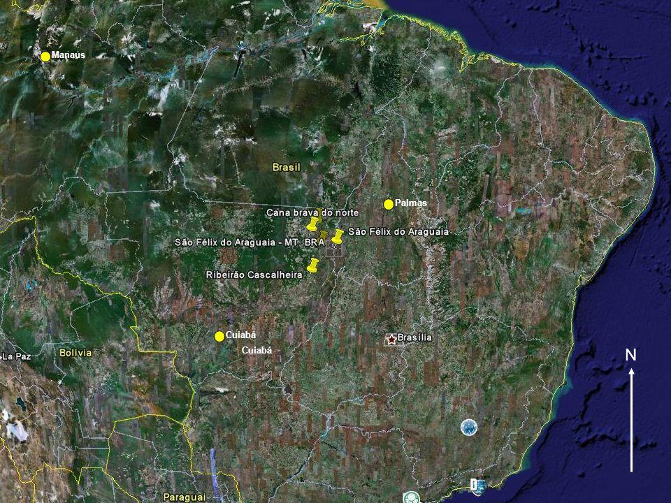 N Cuiabá Palmas Cuiabá Manaus