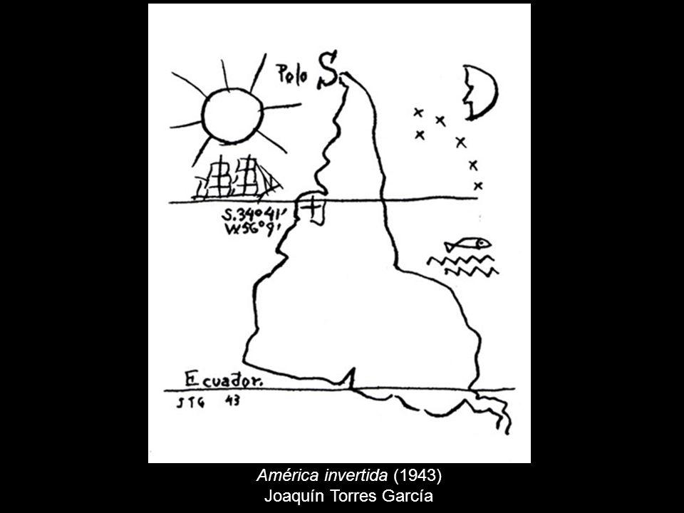 América invertida (1943) Joaquín Torres García