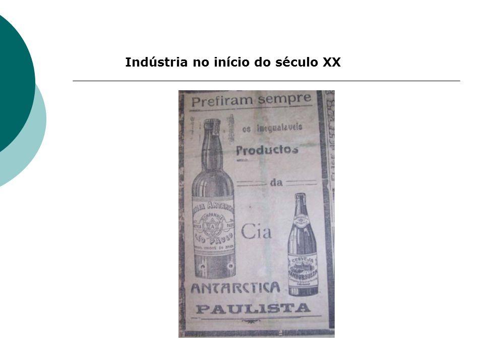 Indústria no início do século XX
