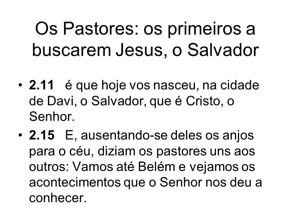Simeão: louvor ao Salvador.