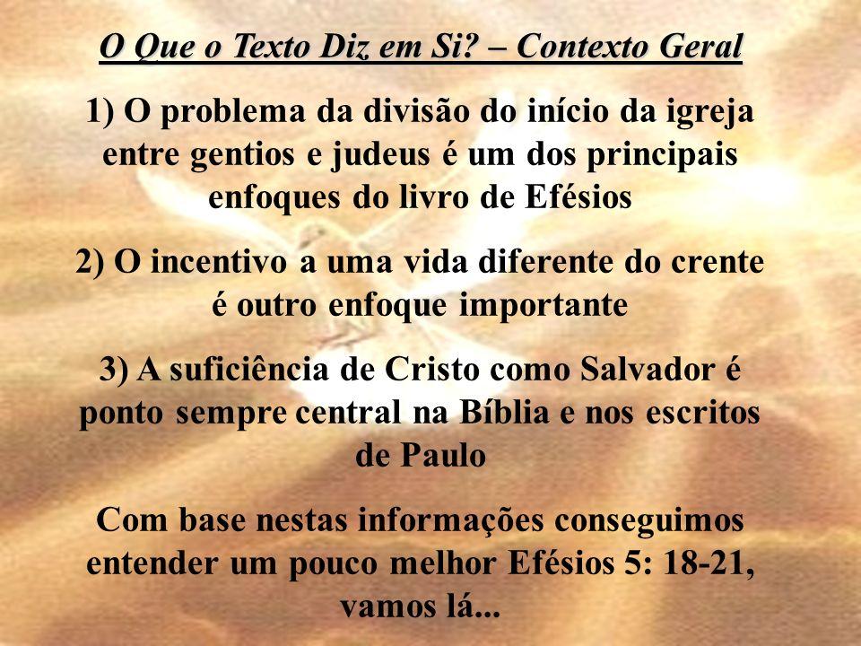 Uma vida plena em Cristo passa pela comunhão com os irmãos e esta comunhão com os irmãos é a evidência de uma vida plena em Cristo.