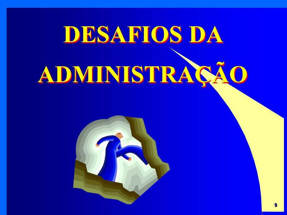9 DESAFIOS DA ADMINISTRAÇÃO
