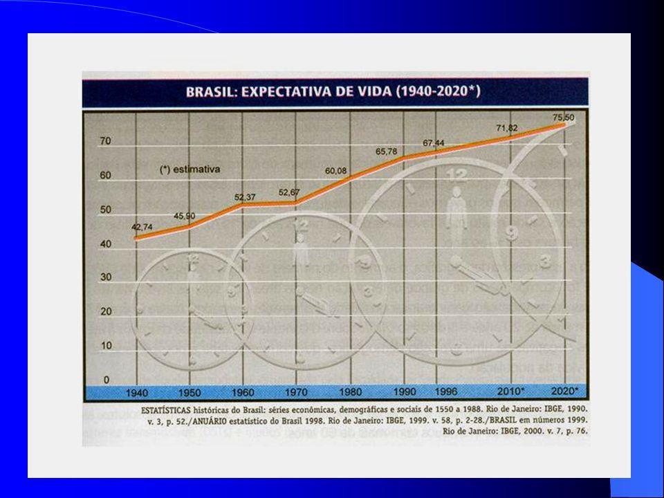 7. Nas décadas de 1980 e 1990, as taxas de crescimento populacional no país tornaram- se reduzidas, implicando num crescimento populacional lento. 8.