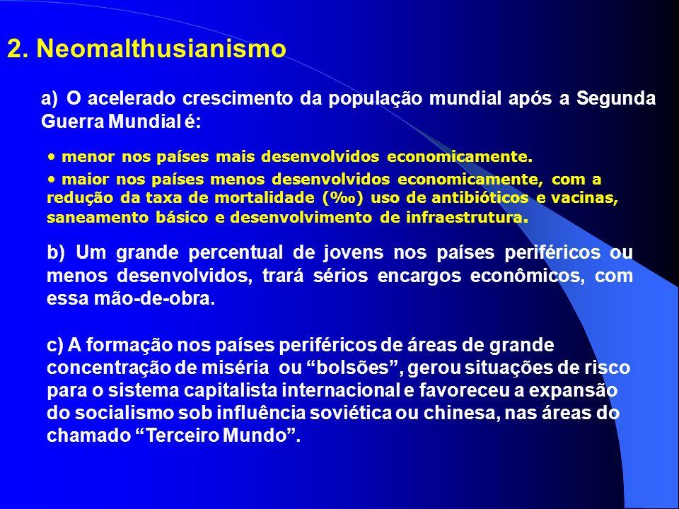 Críticas a tese central de Malthus não considerou os avanços técnico, científico e mecânico aplicados à agricultura e consequentemente o aumento da pr