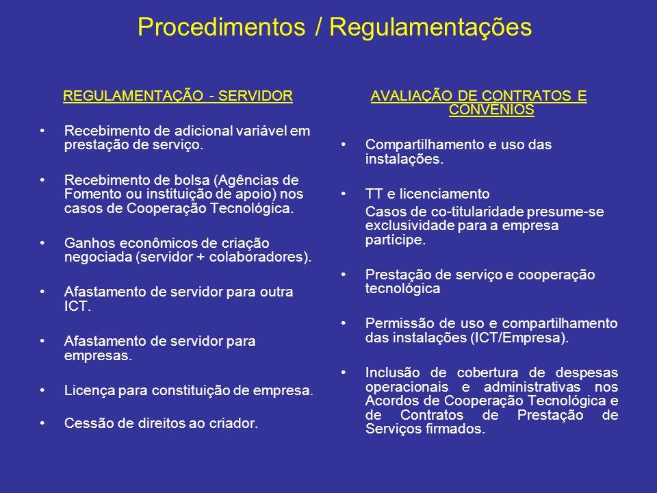 REGULAMENTAÇÃO - SERVIDOR Recebimento de adicional variável em prestação de serviço. Recebimento de bolsa (Agências de Fomento ou instituição de apoio