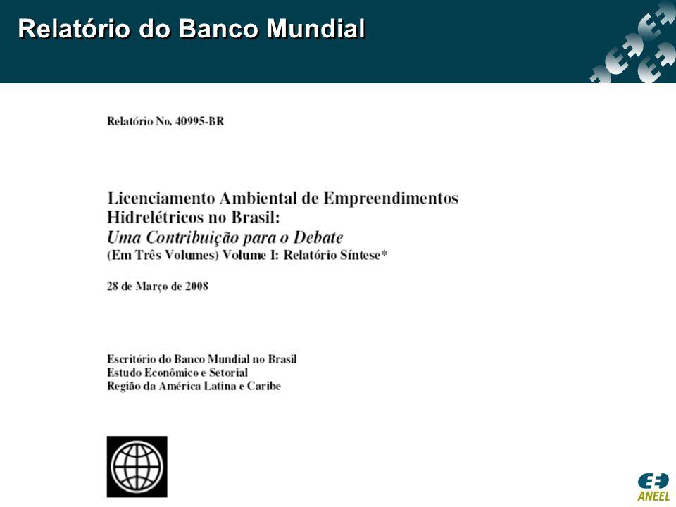 Relatório do Banco Mundial