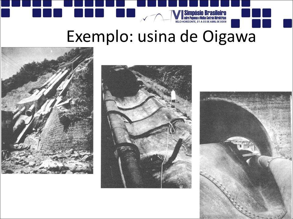 Exemplo: usina de Oigawa