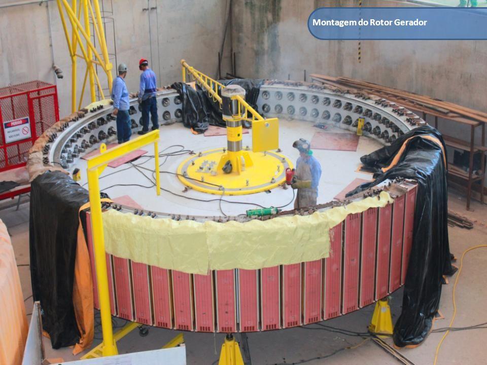 Montagem do Rotor Gerador