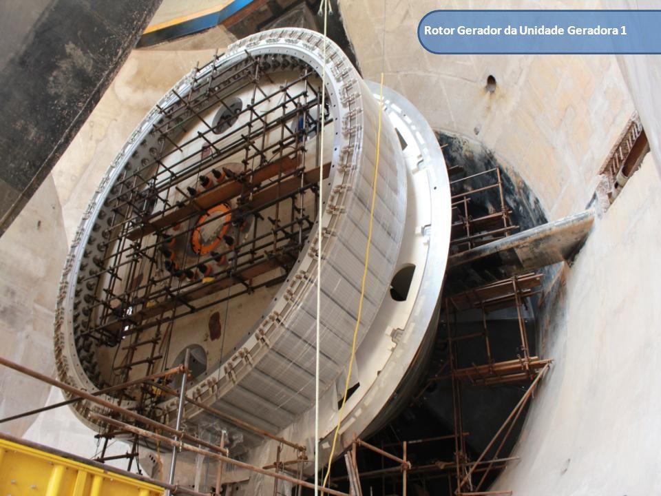 Rotor Gerador da Unidade Geradora 1