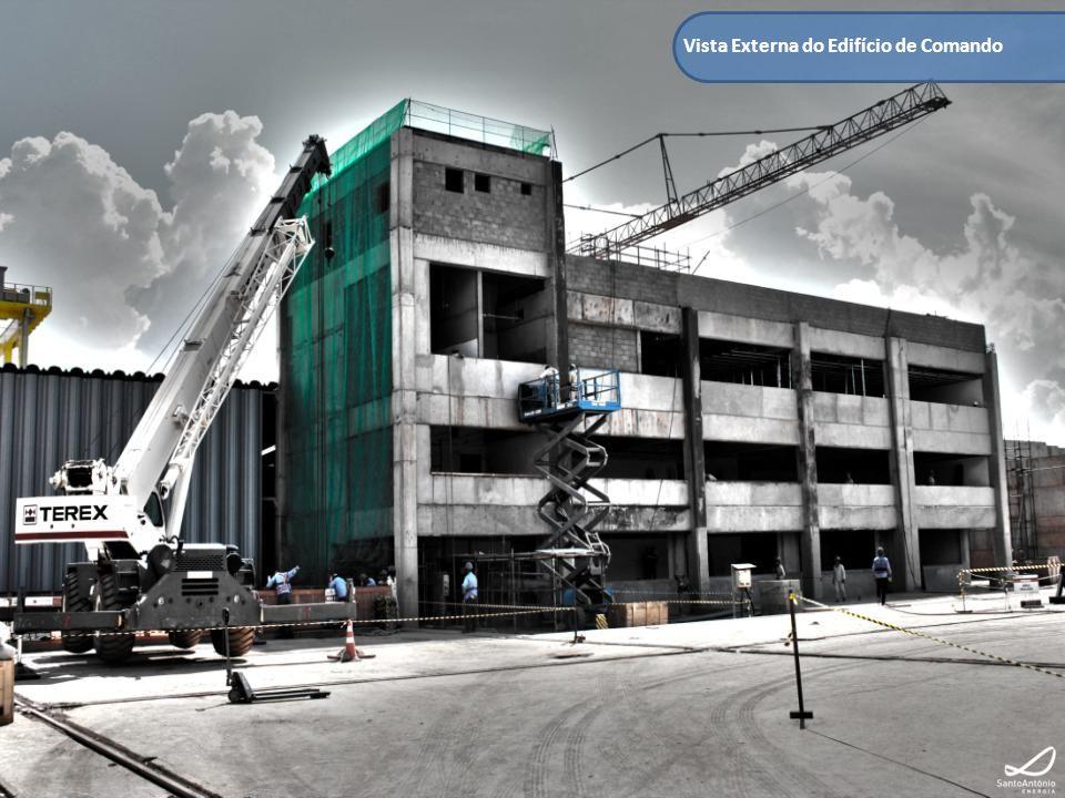 Vista Interna do Edifício de Comando