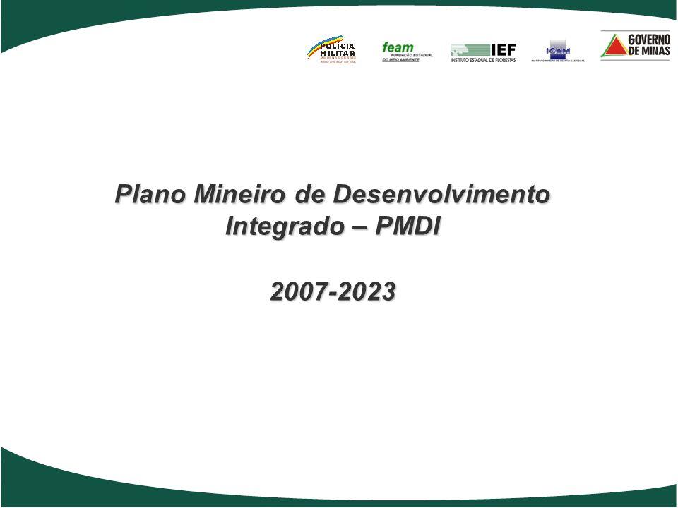 Plano Mineiro de Desenvolvimento Integrado – PMDI 2007-2023