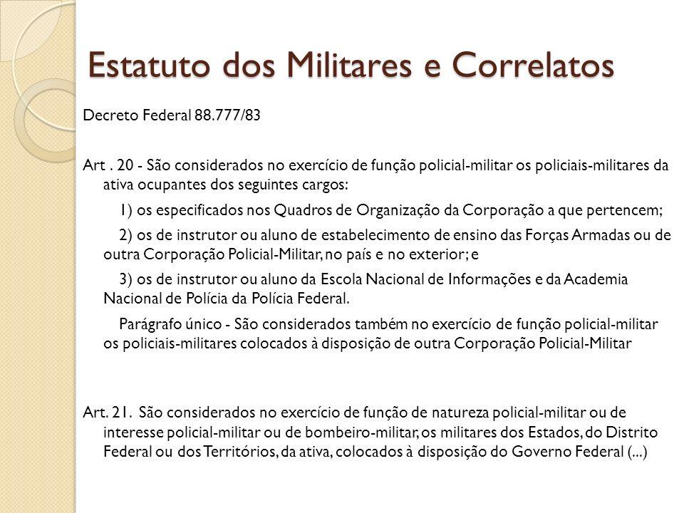 Decreto Federal 88.777/83 Art.
