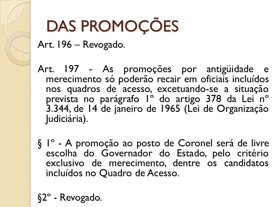 Art.196 – Revogado. Art.