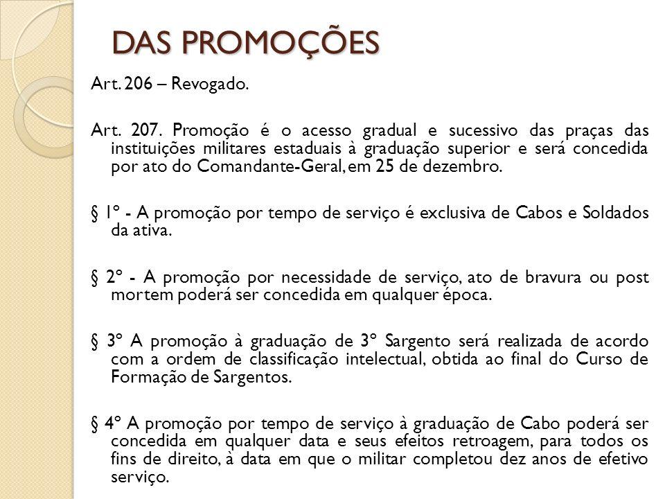 Art.206 – Revogado. Art. 207.